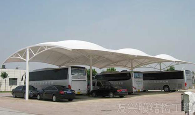 事业单位车棚膜结构加工