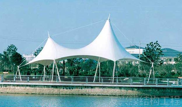 景区棚膜结构