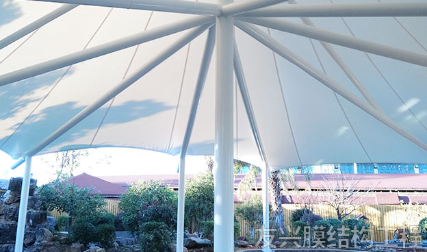 大型酒店膜结构