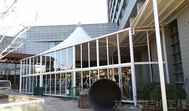 酒店餐厅膜结构定做