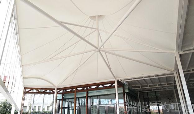酒店餐厅膜结构定做安装