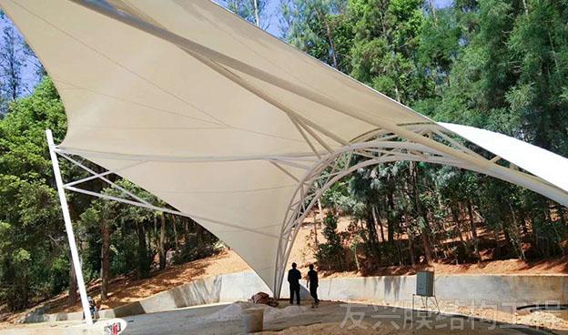 世博园景观膜结构