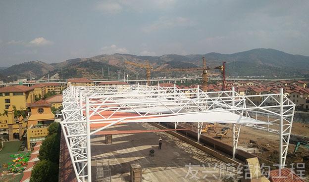 幼儿园景观膜结构设计施工