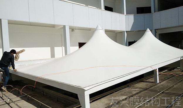顶棚遮阳棚膜结构