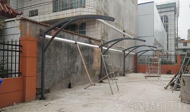 膜结构停车棚定制