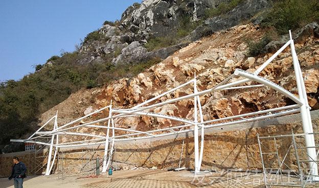 膜结构停车棚设计定制