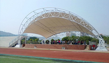 体育看台膜结构