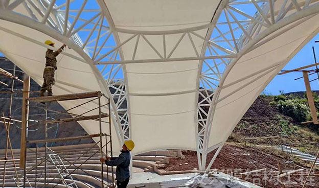 保山景观膜结构工程需要满足哪些特点呢?