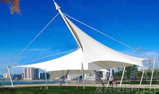 景观膜结构施工工程安装