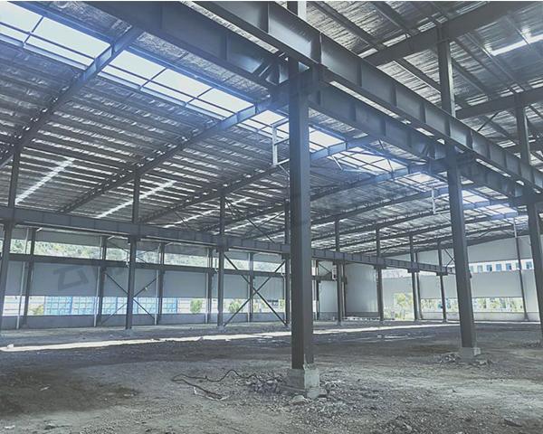 建水厚型钢结构防火涂料施工