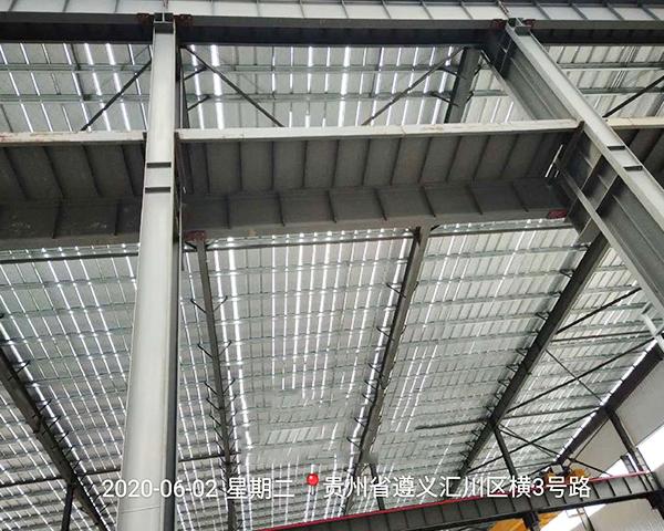 钢结构防火涂料施工案例