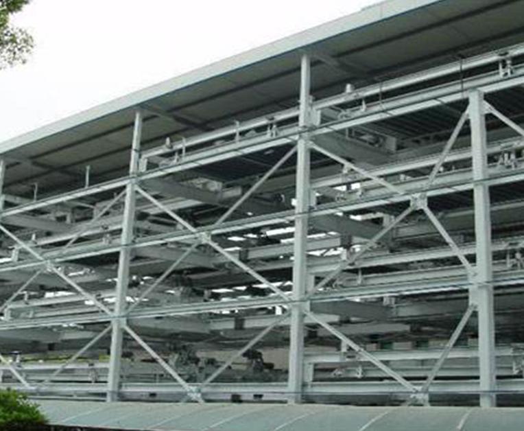 垂直升降智能立体车库