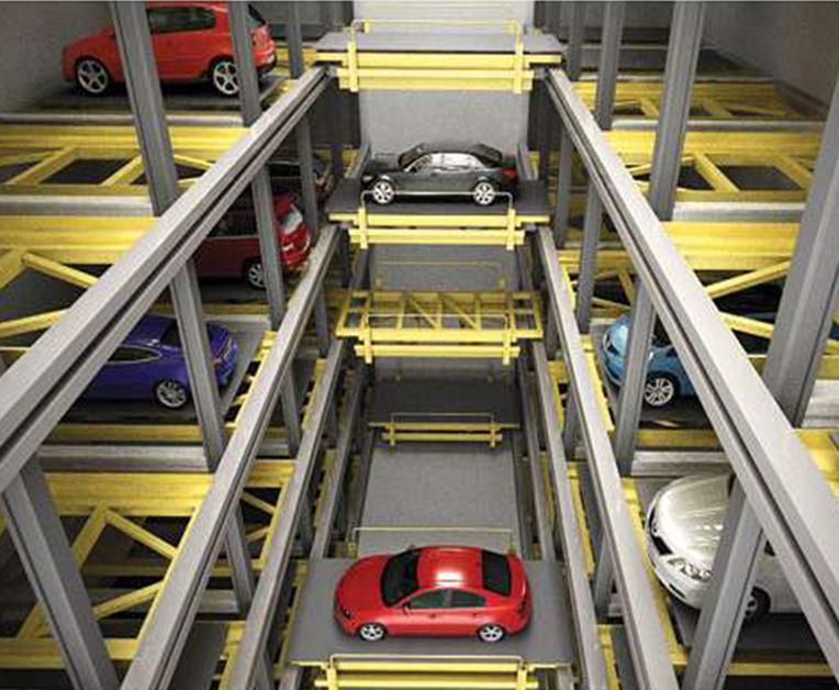平面移动立体车库