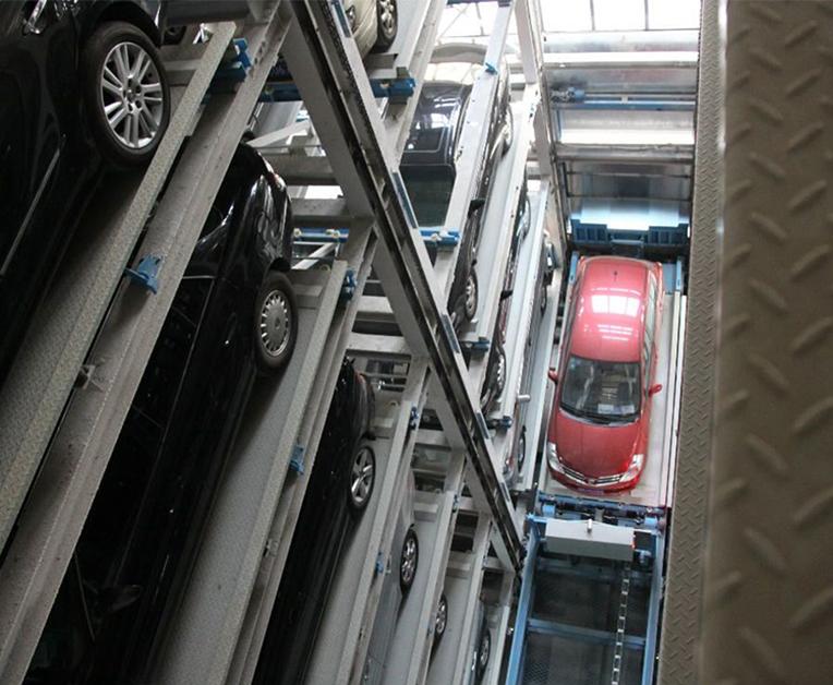 垂直升降停车设备