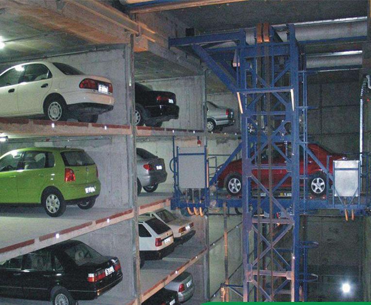 巷道式堆垛停车场