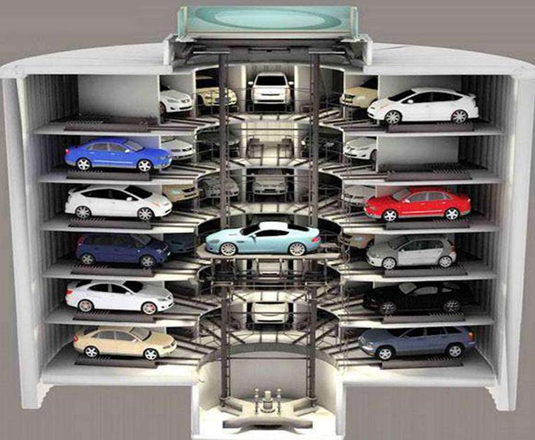 机械式垂直升降类停车库