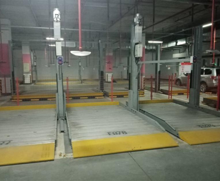 垂直升降式地下车库