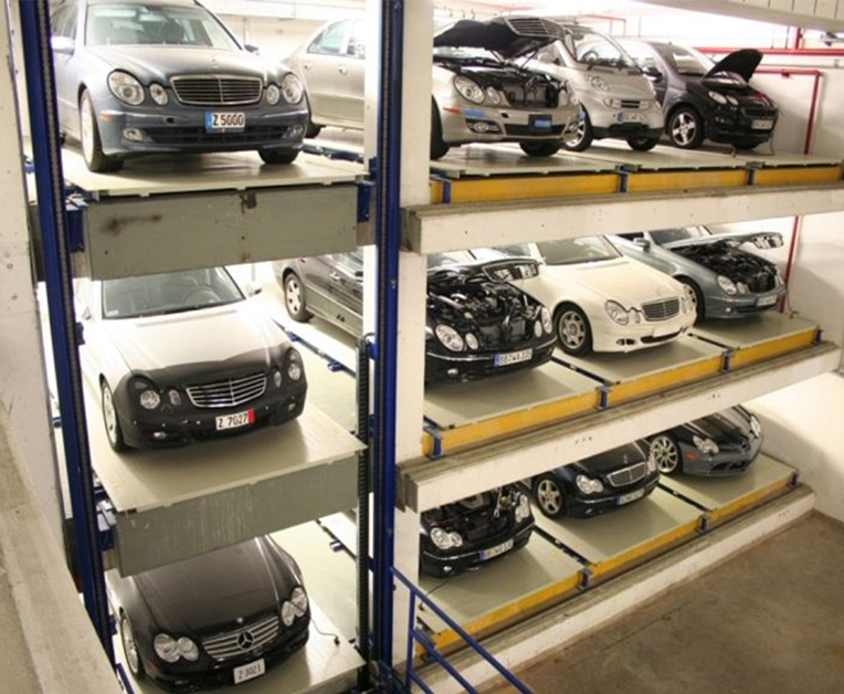 平移式立体停车库