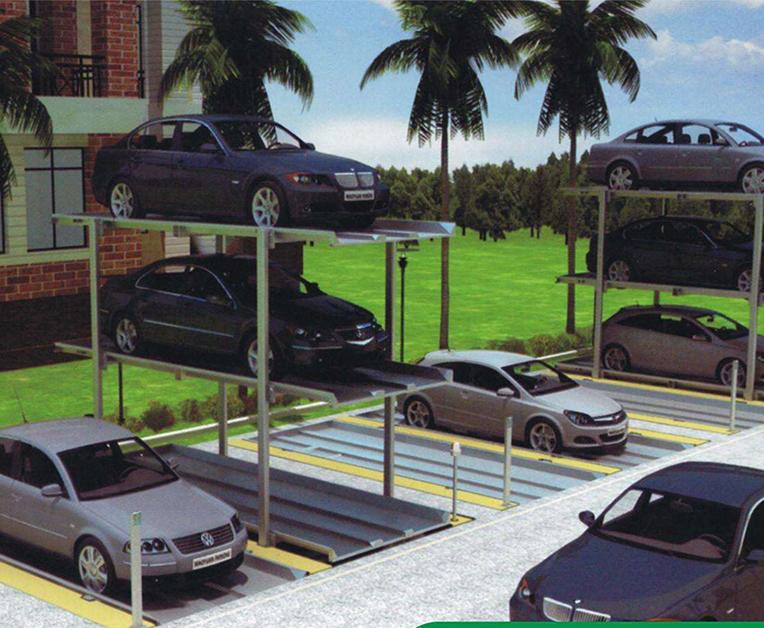 简易升降停车库