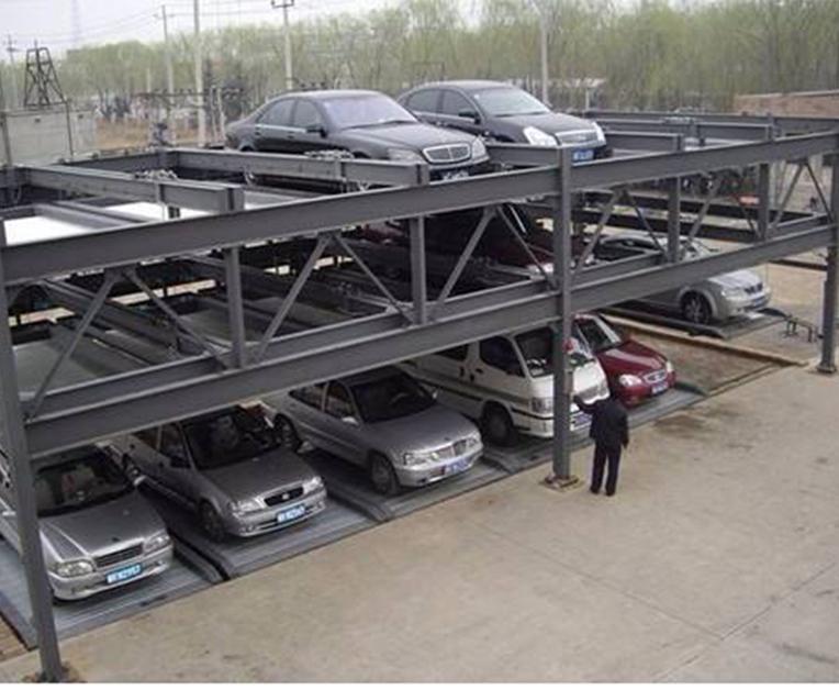 三层升降横移立体车库