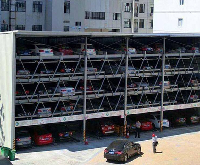 横移升降立体停车库