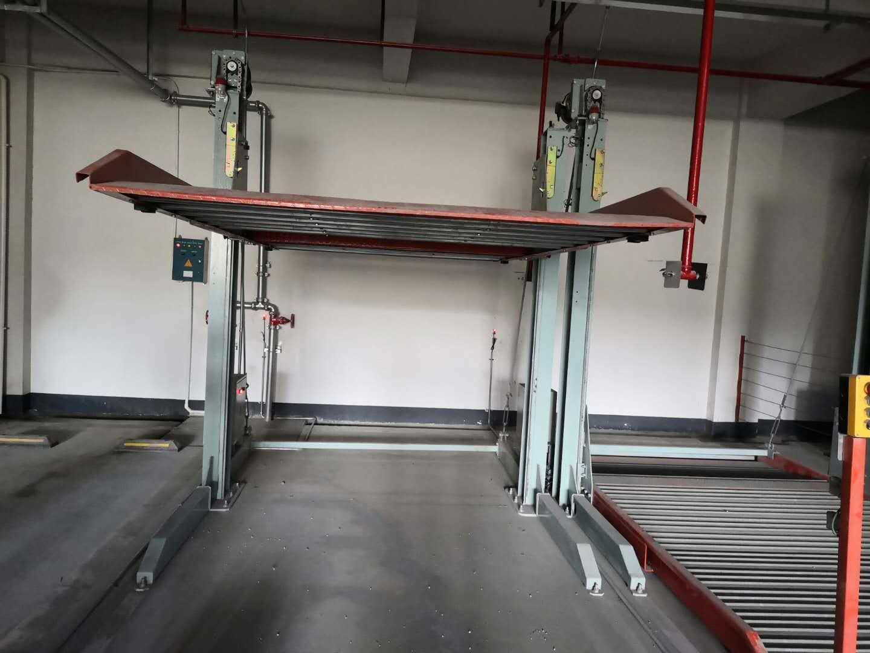 二层升降式立体停车库