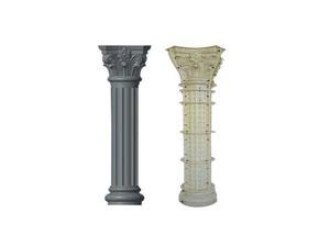 云南线条型罗马柱模具价格