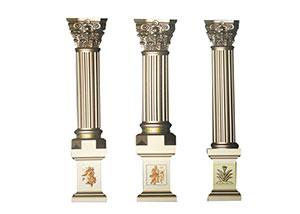 云南罗马柱模具安装