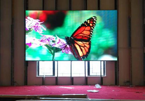 会泽会商大酒店P5室内led显示屏