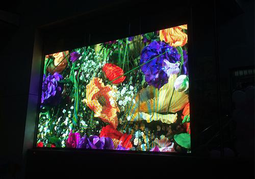 锦鲤酒肆室内全彩P4led显示屏