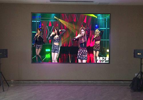 经开区新人人海鲜酒楼P2.5室内P2.5全彩led显示屏
