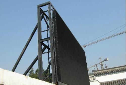 LED显示屏钢结构吊装都有哪些方式呢?