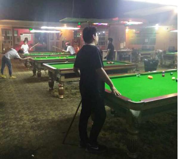 云南台球俱乐部专用台球桌案例