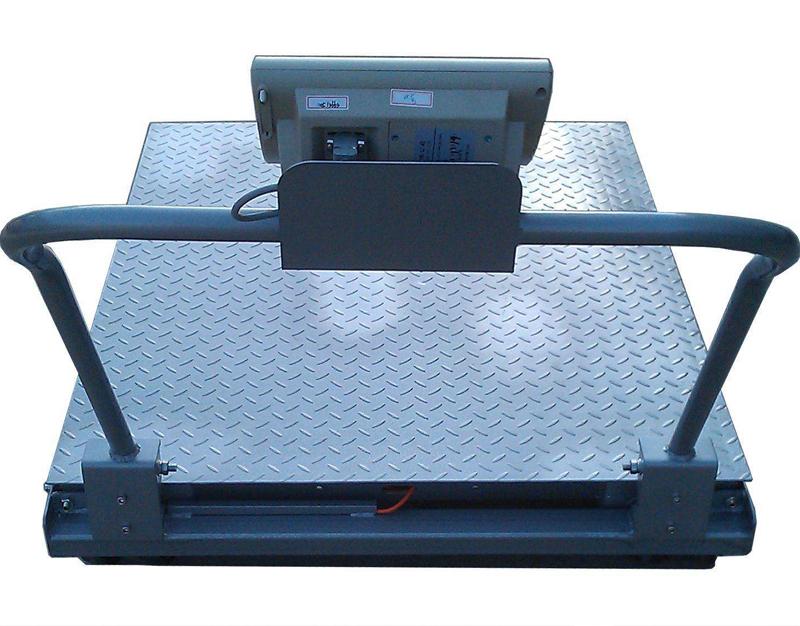 地磅秤选用钢结构承载设备让产品更加稳固可靠