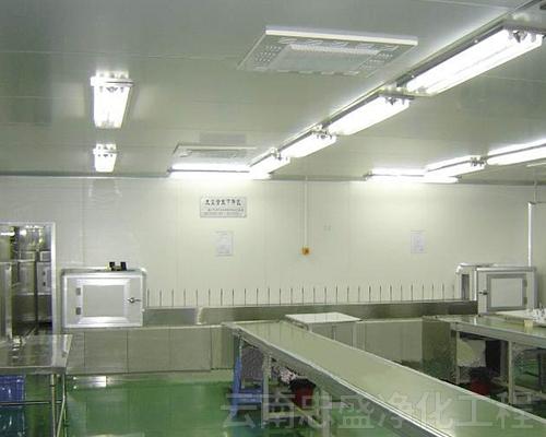 云南迪庆食品厂净化工程