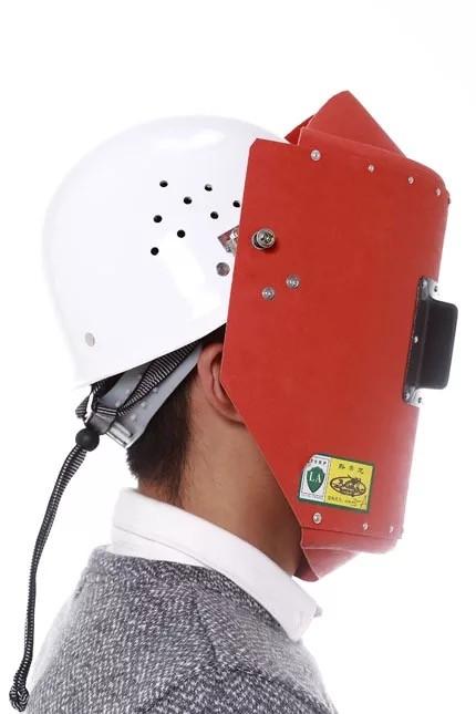 昆明配安全帽電焊面罩1