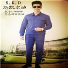 昆明169808蓝色斜纹长袖工作服