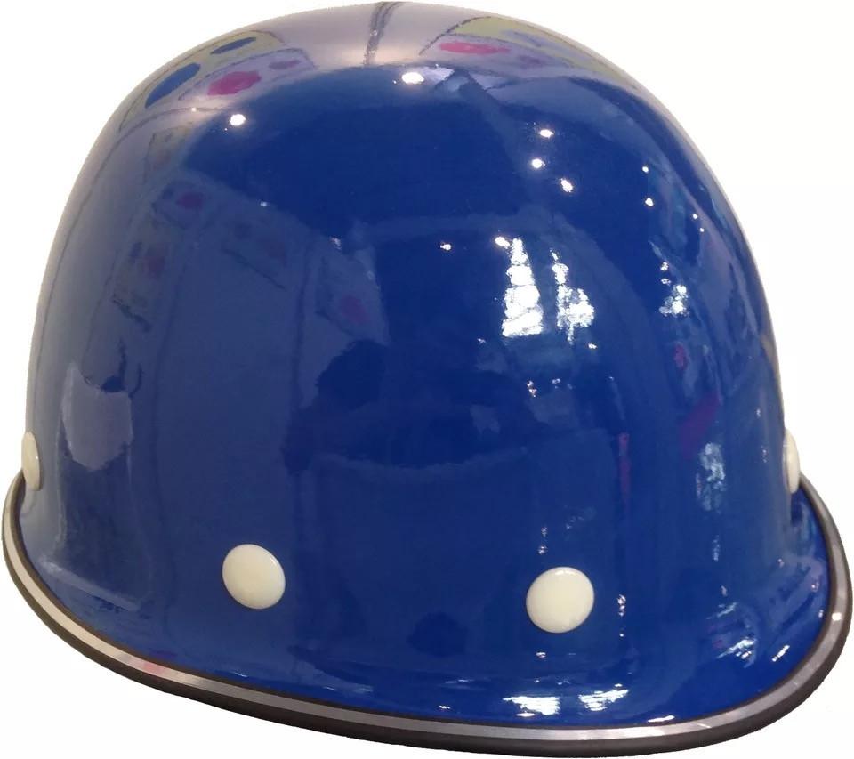 昆明永佳玻璃鋼藍色安全帽