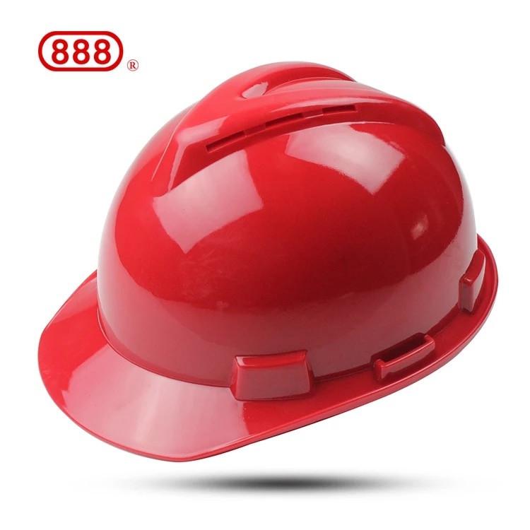 昆明永佳透氣型紅色安全帽