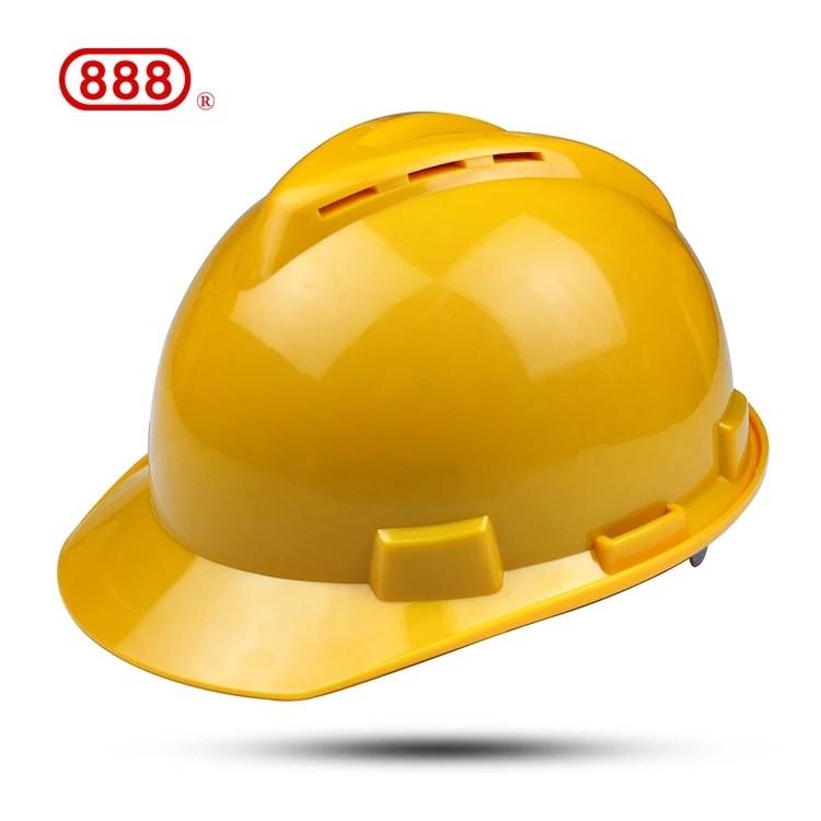 昆明永佳透氣型黃色安全帽