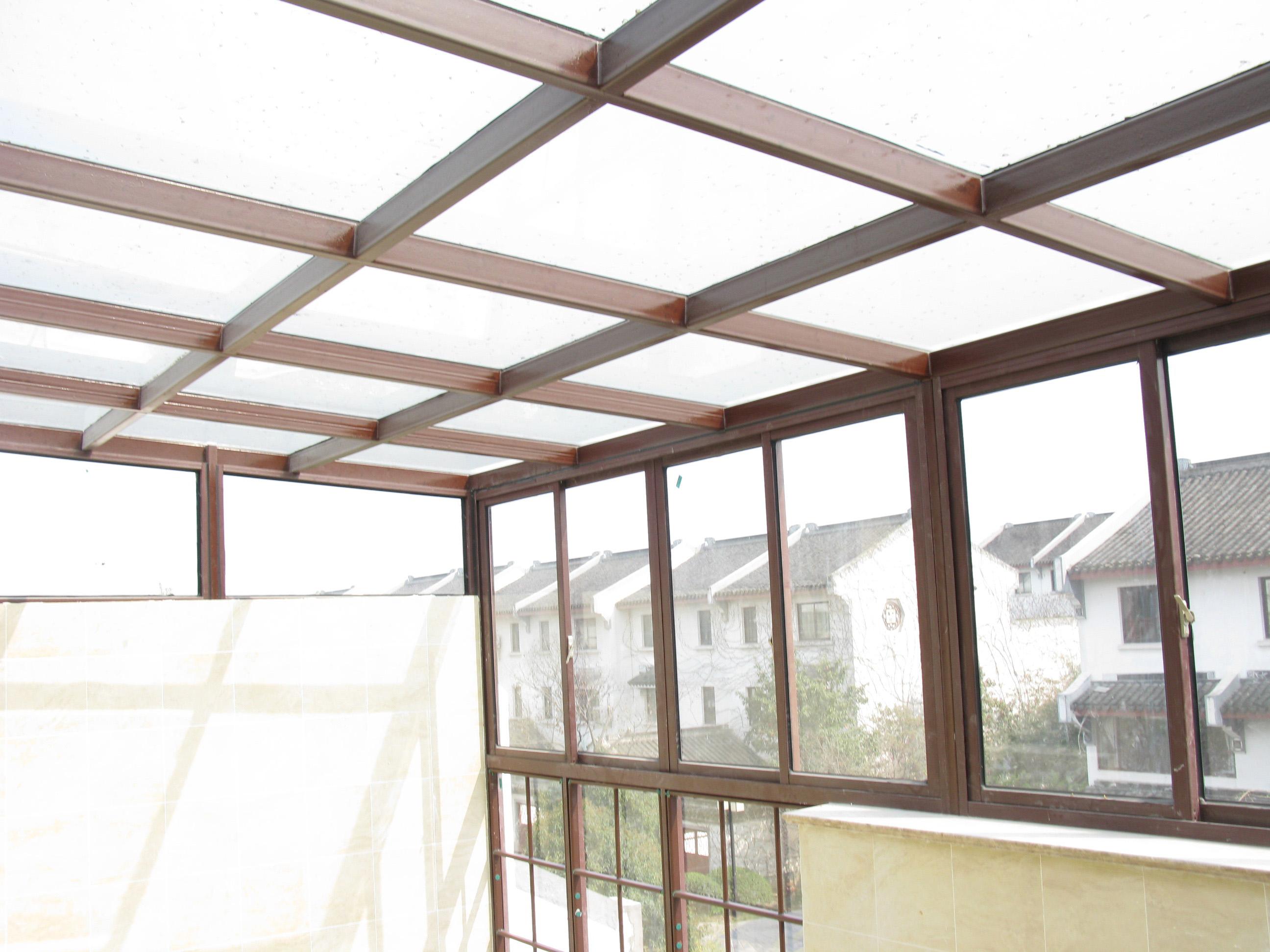 昆明铝合金阳光房细节展示