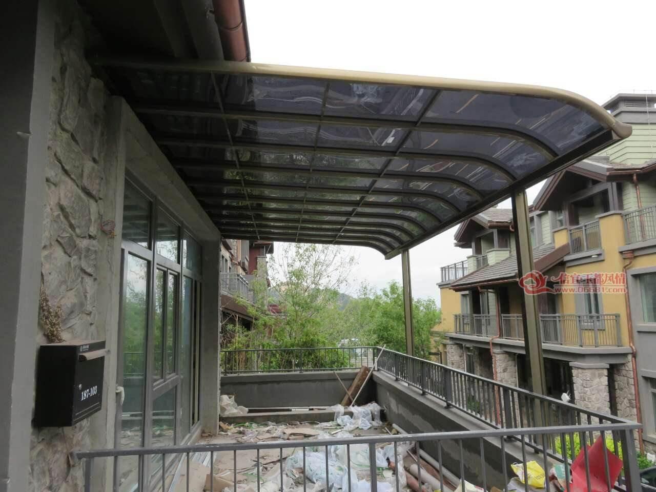 鋁合金雨棚1