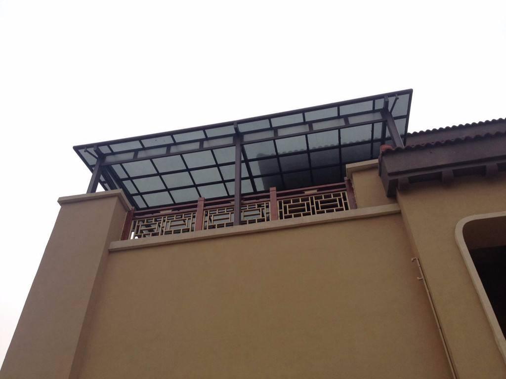 云南铝合金雨棚图片