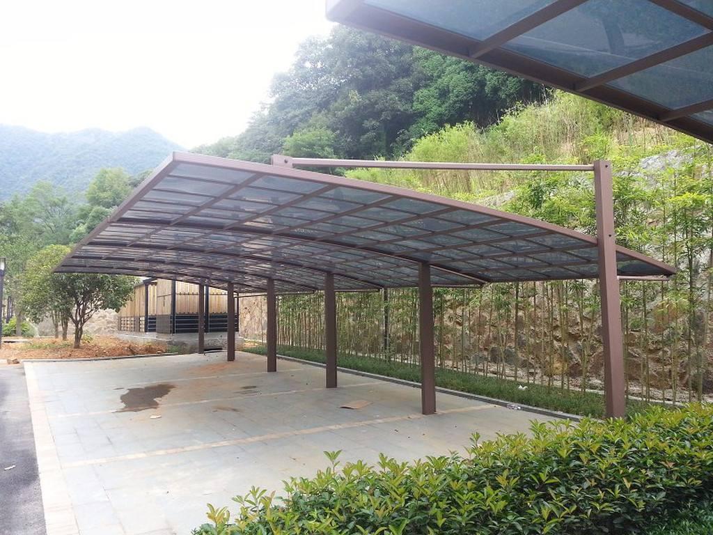 云南铝合金雨棚照片展示