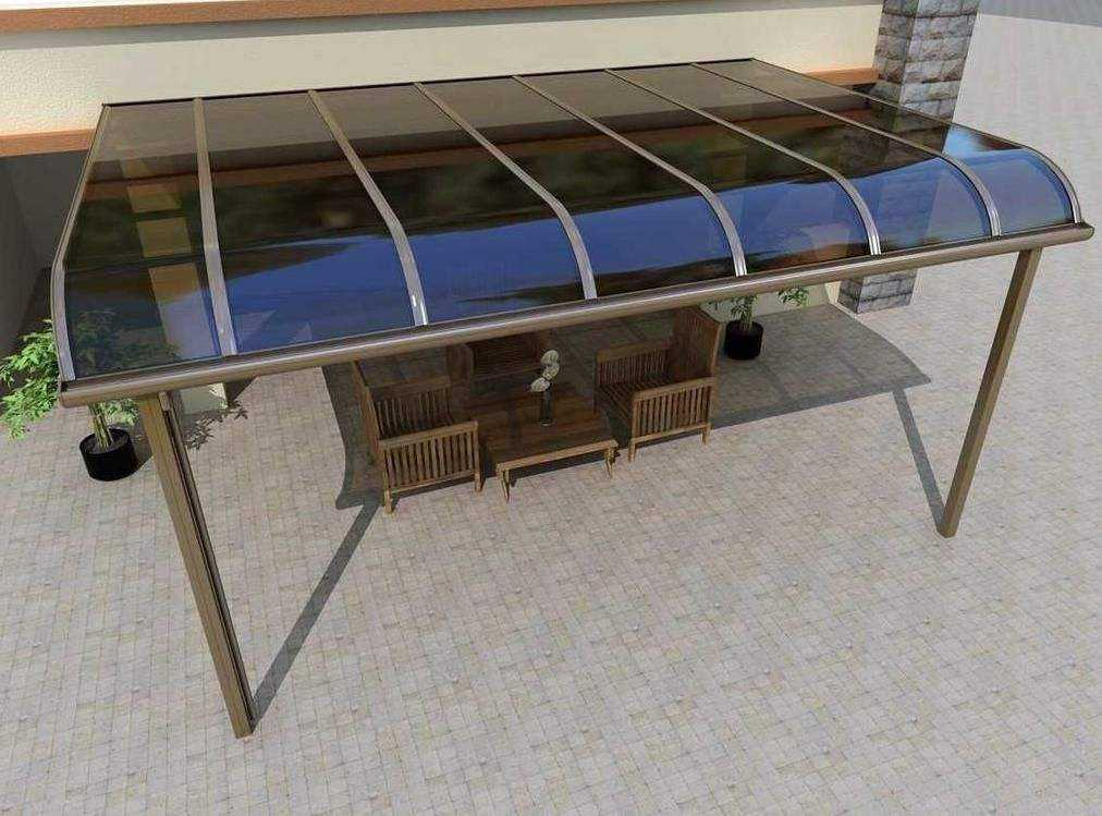 昆明铝合金雨棚安装效果展示