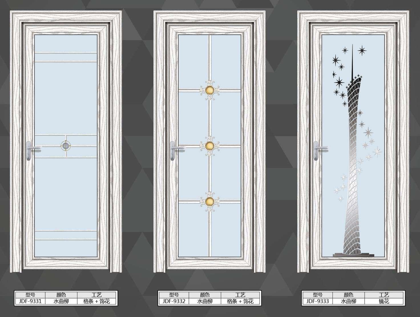 衛生間隔斷門