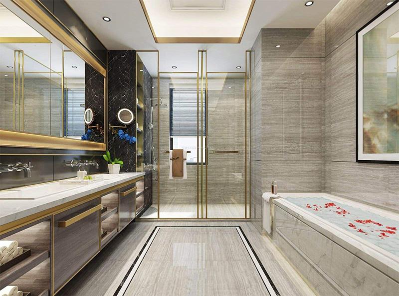 卫浴隔断门