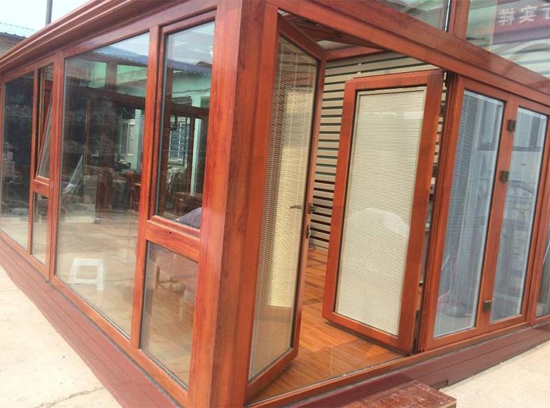 实木铝包木门窗