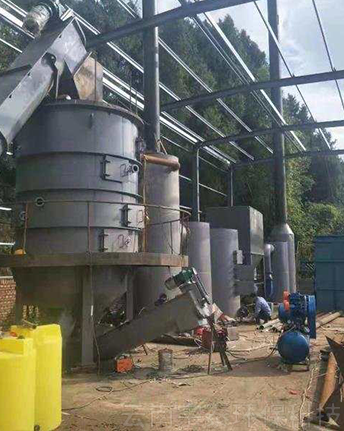 工业垃圾热解炉