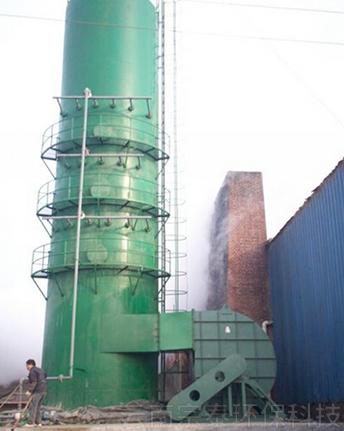 酸雾净化脱硫塔